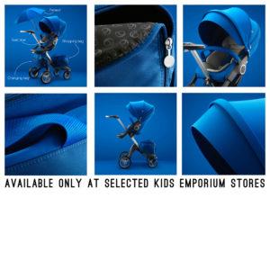 blue stokke