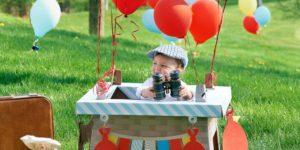 hot air balloon. kid emporium